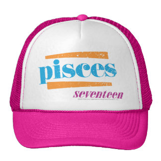 Pisces Aqua Cap