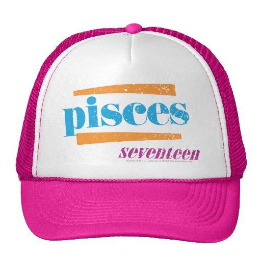 Pisces Aqua Mesh Hat