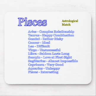 Pisces Astrological Match The MUSEUM Zazzle Gifts Mouse Mat