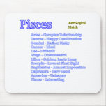 Pisces Astrological Match The MUSEUM Zazzle Gifts Mousepad