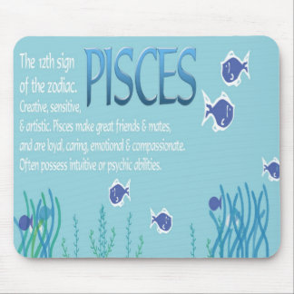 Pisces Astrology Mousepad