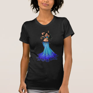 Pisces Belly Dancer Art T-Shirt