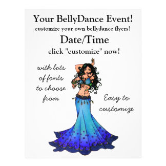 Pisces Belly Dancer Flyer