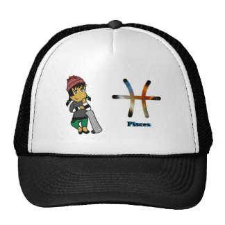 Pisces chibi trucker hats
