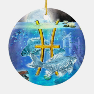 Pisces Christmas Ornament