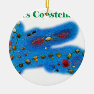 Pisces Constellation Christmas Ornament