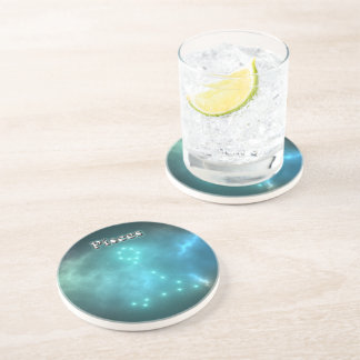 Pisces constellation coaster