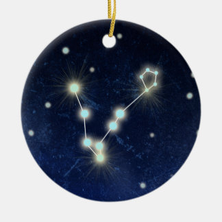Pisces Constellation | Custom Name Christmas Ornament