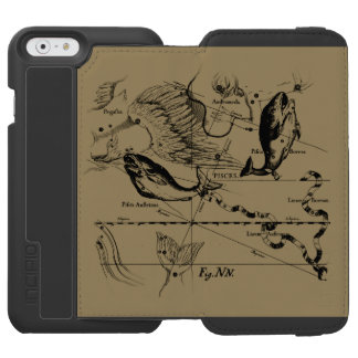 Pisces Constellation Hevelius 1690 Feb19 -March 20 Incipio Watson™ iPhone 6 Wallet Case