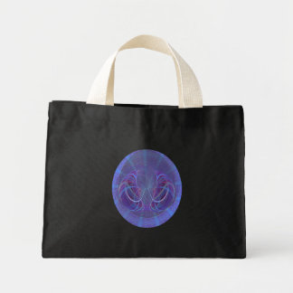 Pisces Fish Abstract Art Mini Tote Bag