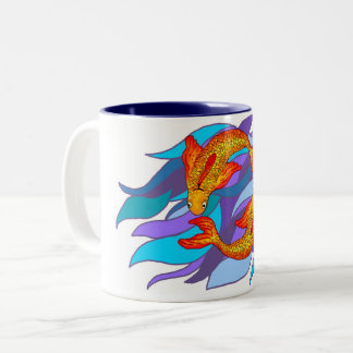 Pisces Fish Water Zodiac Sign Mug