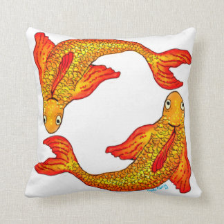 Pisces Fish Zodiac Art Cushion