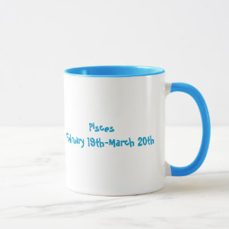 Pisces Fish Zodiac-Colorful Mug