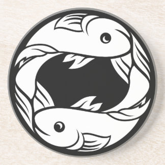 Pisces Fish Zodiac Horoscope Astrology Sign Coaster
