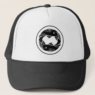 Pisces Fish Zodiac Horoscope Sign Trucker Hat