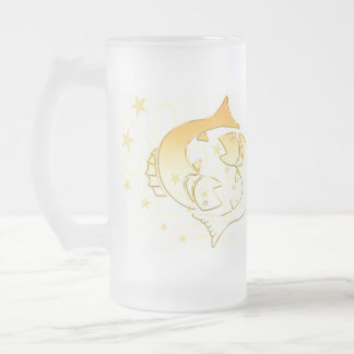 Pisces Frosted Mug