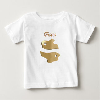 Pisces golden sign baby T-Shirt