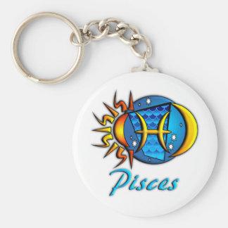 Pisces Key Ring