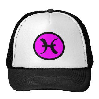 Pisces logo zodiac hat
