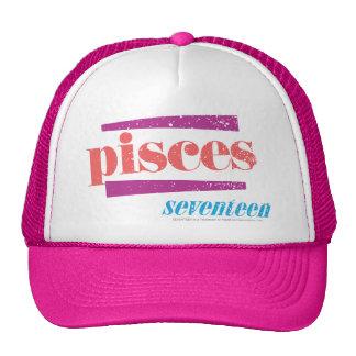 Pisces LtPink Trucker Hat