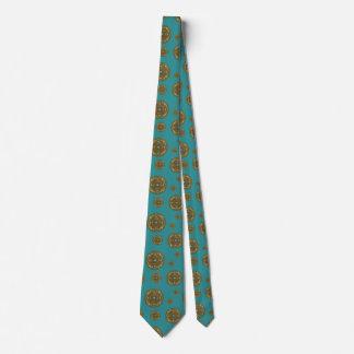 Pisces Mandala Men's Neck Tie