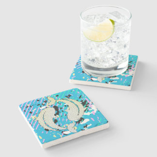 Pisces Marble Coaster Stone Beverage Coaster