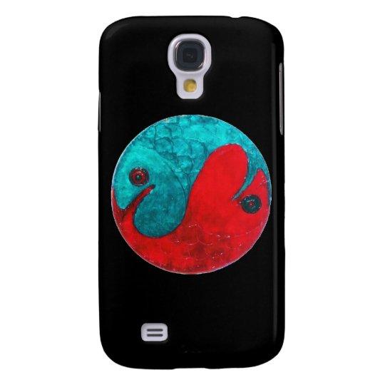 Pisces on Black Galaxy S4 Case