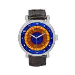 Pisces Pattern Wristwatch