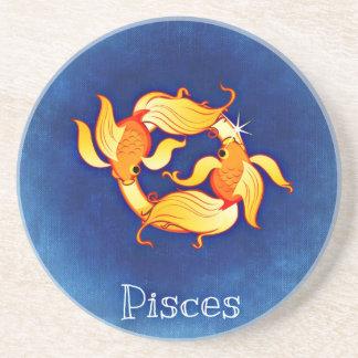 Pisces, Pesci Coasters
