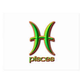 Pisces Postcards