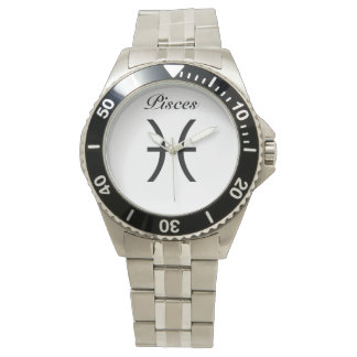 Pisces Sign of the Zodiac. Mens Watches. Watch