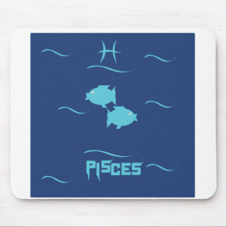Pisces Starsign MousePad