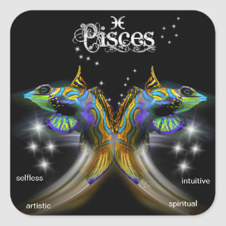 Pisces Stickers
