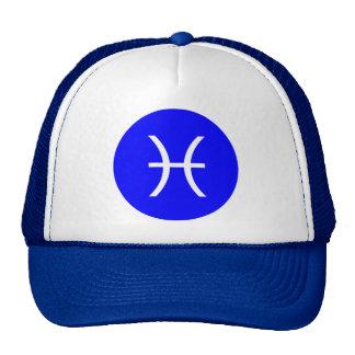 Pisces Symbol Cap