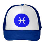 Pisces Symbol Mesh Hats