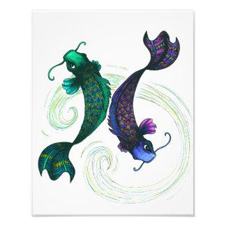 Pisces Symbol Photo Art