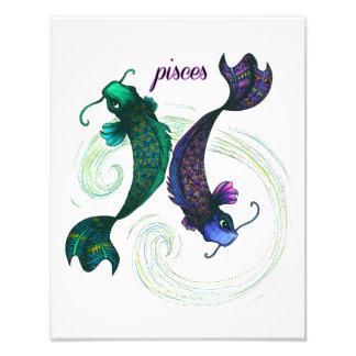 Pisces Symbol Photograph
