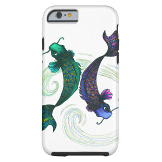 Pisces Symbol Tough iPhone 6 Case