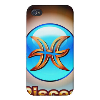 Pisces the Fish Covers For iPhone 4