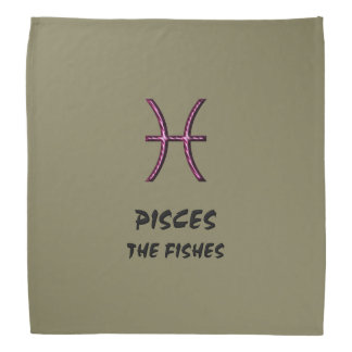 Pisces the fishes bandana