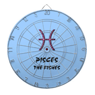 Pisces the fishes dartboard