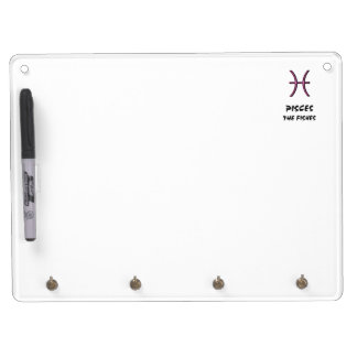 Pisces the fishes dry erase board