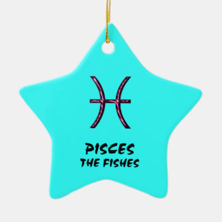 Pisces the fishes ornament