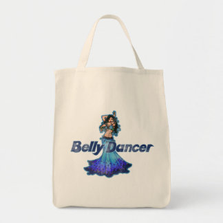 Pisces Vintage Belly Dancer Tote Bag