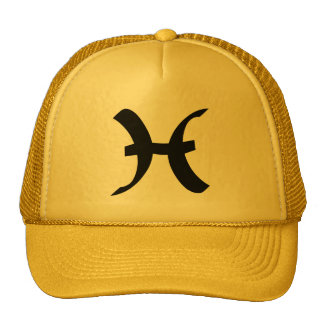 Pisces yellow gold hat