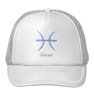 Pisces. Zodiac Astrology Sign. Hat