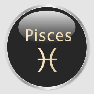 Pisces zodiac astrology,  star sign stickers