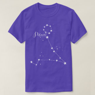 Pisces Zodiac Constellation T-shirt