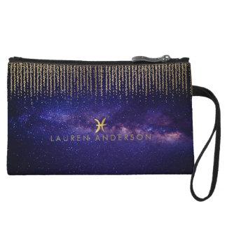 Pisces Zodiac Pretty Cosmetic Bag