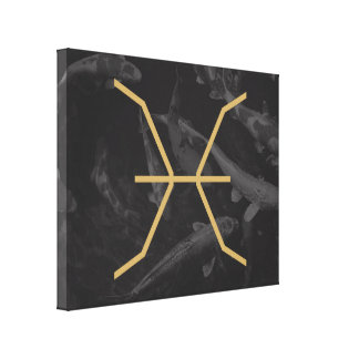 Pisces Zodiac Sign   customizable Background